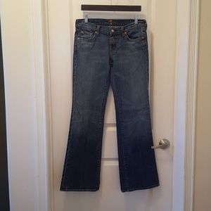 Seven 7 For All Mankind Flare Jeans Size 30